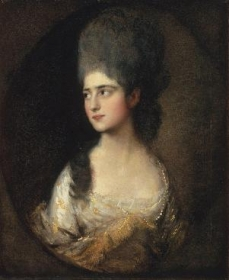 Portrait of Miss Elizabeth Linley later Mrs. Richard Brinsley Sheridan