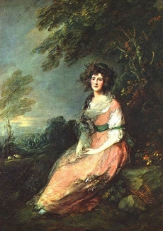 Mrs. Sheridan by Thomas Gainsborough Andrew W. Mellon Collection National Gallery of Art, Washington, DC
