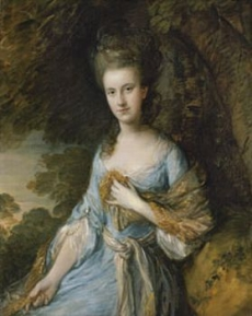 Retrato de Sarah Buxton c. 1776-1777  Museo Thyssen-Bornemisza