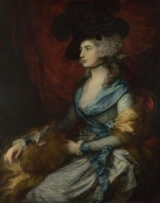 Mrs Siddons  1785, Thomas Gainsborough The National Gallery, Trafalgar Square, London