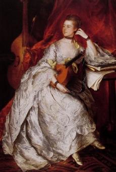 Thomas Gainsborough  Ann Ford (Mrs Philip Thicknesse)