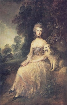 Portrait of Mary Robinson 1781 Wallace Collection, London