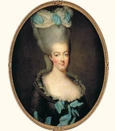 Portrait de Marie-Antoinette Exécutant RIBOU Jean Marie