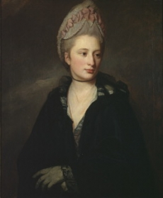 Lady Georgiana Spencer by George Romney, 1771