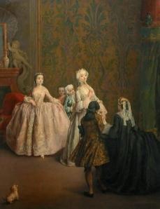 Pietro Falca (Pietro Longhi) La présentation musée du Louvre