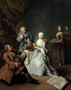 Pietro Longhi La lezione di geografia-1750-52 Querini Stampalia Foundation Museum