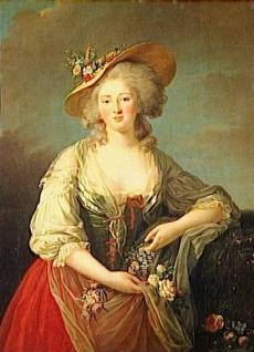 Elisabeth de France Princess 1782 Élisabeth Vigée-Lebrun