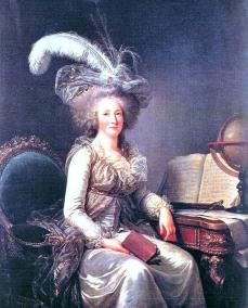 Madame Elisabeth (1764-1794), gemalt von Adélaïde Labille-Guiard
