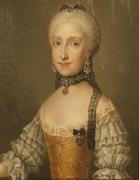 Infantin Maria Ludovica (1745-1792), Gemahlin von Leopold II  Schlos Schonbrunn