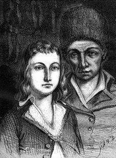 Louis XVII au Temple, avec son geôlier le cordonnier Antoine Simon Histoire de la Révolution, dAdolphe Thiers. Ed. 1866. Tome 2, page 161