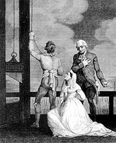 The Queen of Louis XVI King of France at the Guillotine, 16 October 1793