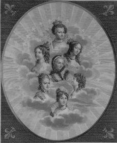 Les Reines de France-Marie de Médicis, Anne dAutriche, Marie Thérèse dAutriche, Marie Leczinska, Marie Antoinette, Marie Joséphine de Savoie et Marie Thérèse Charlotte de France