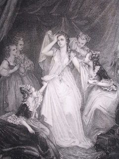 Marie-Antoinette was known in her inner circle for her intense modesty, which contradicts the usual public image of her. As Madame Campan relates
