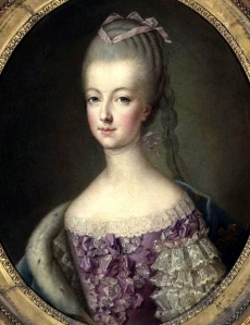 Marie-Antoinette by François-Hubert Drouais painted in 1773