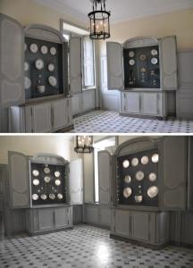 Salle des armoires aux porcelaines au rez-de-chaussee