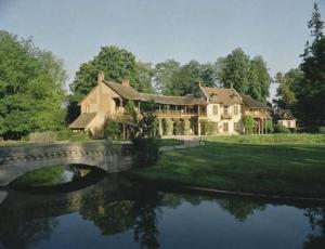 Hameau (heliochromie), maison de la reine et maison du billard