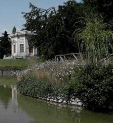Le Jardin Anglais le rocher et le Belvedere