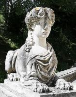 Petit Trianon Des sphinx