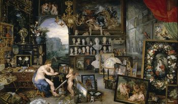 Allegory of Sight. Peter Paul Rubens and Jan Brueghel