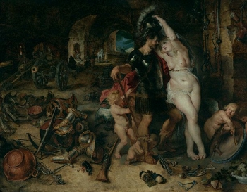 The Return from War  about 1610 - 1612  Peter Paul Rubens, painter; Jan Brueghel the Elder,Paul Getty Trust