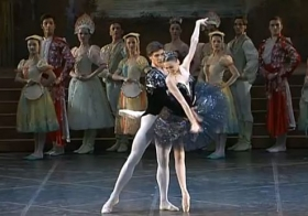 Svetlana Zakharova and Roberto Bolle   Swan Lake
