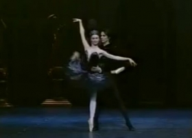 Pas de deux- Swan lake com svetlana Zakharova
