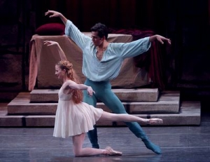 Peter Martins' Romeo + Juliet.