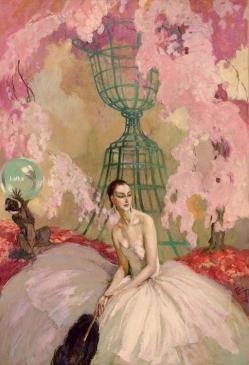 A l'ombre d'une jeune fille en fleur by Jean-Gabriel Domergue