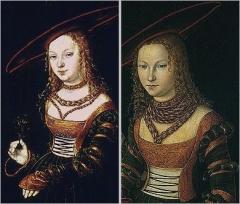 Portrait of a girl (Portrait of a girl ) Lucas Cranach the Elder