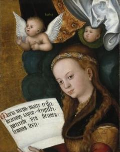 sainte Marguerite Cranach Lucas, l'Ancien Allemagne, Aschaffenbourg, Bayerische Staatsgemäldesammlungen