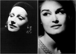 Marlene Dietrich , Dalida