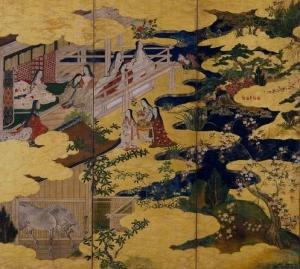 Scenes from Tale of Genji