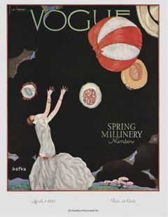 Vogue cover March 1925