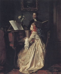 The Music Lesson Jean Carolus