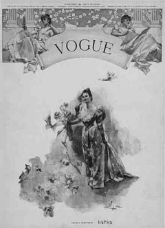 First Published Issue of Vogue, December 17 1892