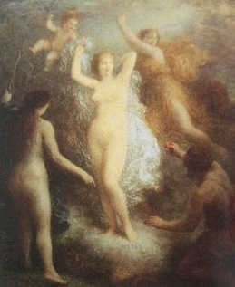 Henri Fantin-Latour The Judgment of Paris