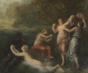 Tannhäuser, 1886, Henri Fantin Latour, Cleveland Museum of Art