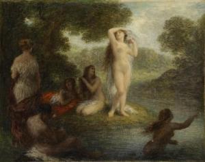 Bathers? Toilette? Arcadia Women Bathing? Henri Fantin-Latour