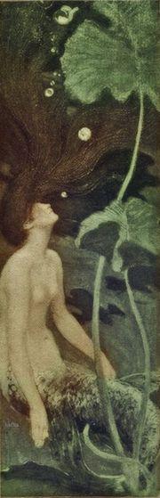 Maurice Greiffenhagen The Mermaid  1900