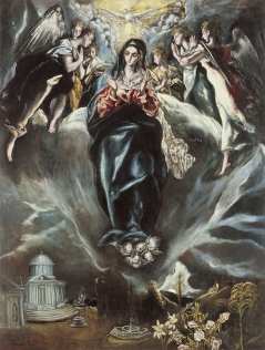 The Immaculate Conception ca. 1608-14 El Greco and Jorge Manuel Theotokópoulos Museo Thyssen-Bornemisza, Madrid
