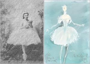 La Source 1866 Guglielmina Salvioni dans le rôle de Naïla, Christian Lacroix, La Source et le Ballet de lOpéra de Paris