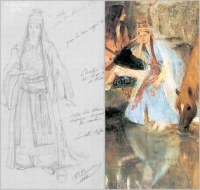 La Source, ballet, P. Lormier ? 1866