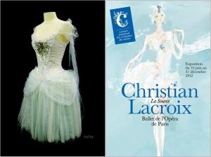 Christian Lacroix, La Source et le Ballet de lOpéra de Paris