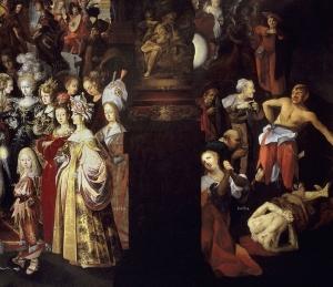 Strobel el Joven, Bartholomäus Título Degollación de San Juan Bautista y banquete de Herodes. Prado