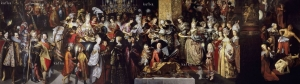 Degollación de San Juan Bautista y banquete de Herodes