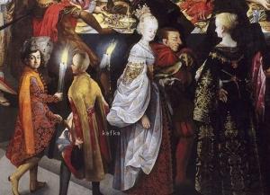 Bartholomeus Strobel −Degollación de San Juan Bautista y banquete de Herodes Museo del Prado