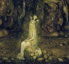 Trolls and Princess by John Bauer