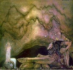 Trolls and Princess by John Bauer