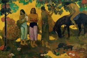 Paul Gauguin Rupe rupe 1899, huile sur toile Musée Pouchkine, Moscou