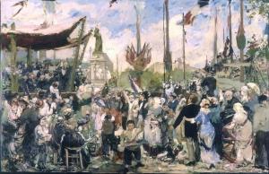 Le Petit Palais -Alfred Roll, Le 14 juillet 1880